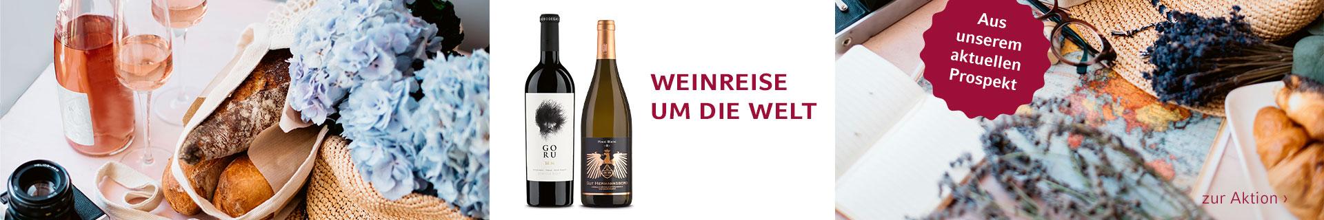 Weinreise um die Welt
