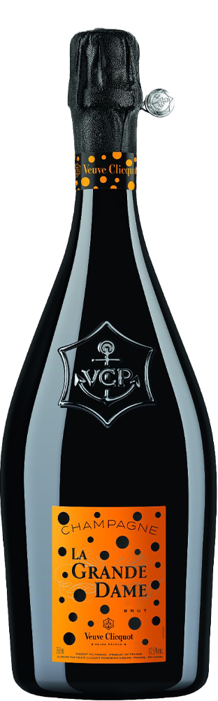 2012 Champagne Brut La Grande Dame Art Label Yayoi Kusama Veuve Clicquot Ponsardin Brut 750.00