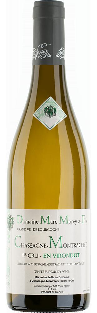 2019 Chassagne-Montrachet En Virondot 1er Cru AOC Blanc Grand Vin de Bourgogne Domaine Marc Morey & Fils 750.00