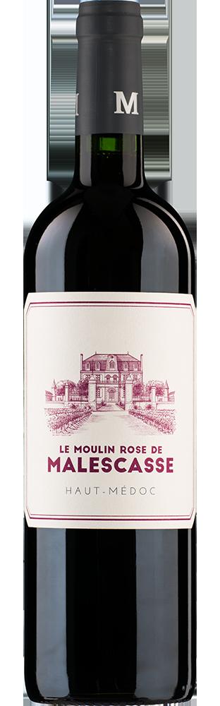 2014 Le Moulin Rose de Malescasse Haut-Médoc AOC Second vin du Château Malescasse 1500.00