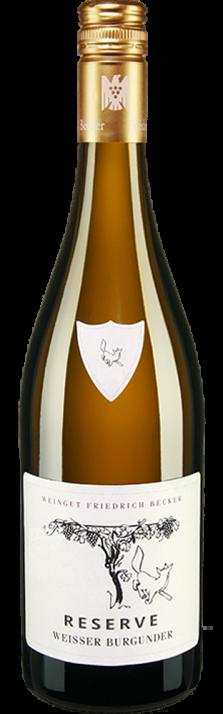 2017 Weisser Burgunder Reserve Weingut Friedrich Becker 750.00
