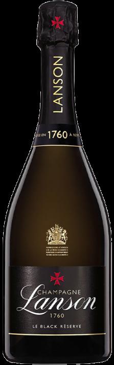 Champagne Brut Black Label Reserve Lanson 750.00