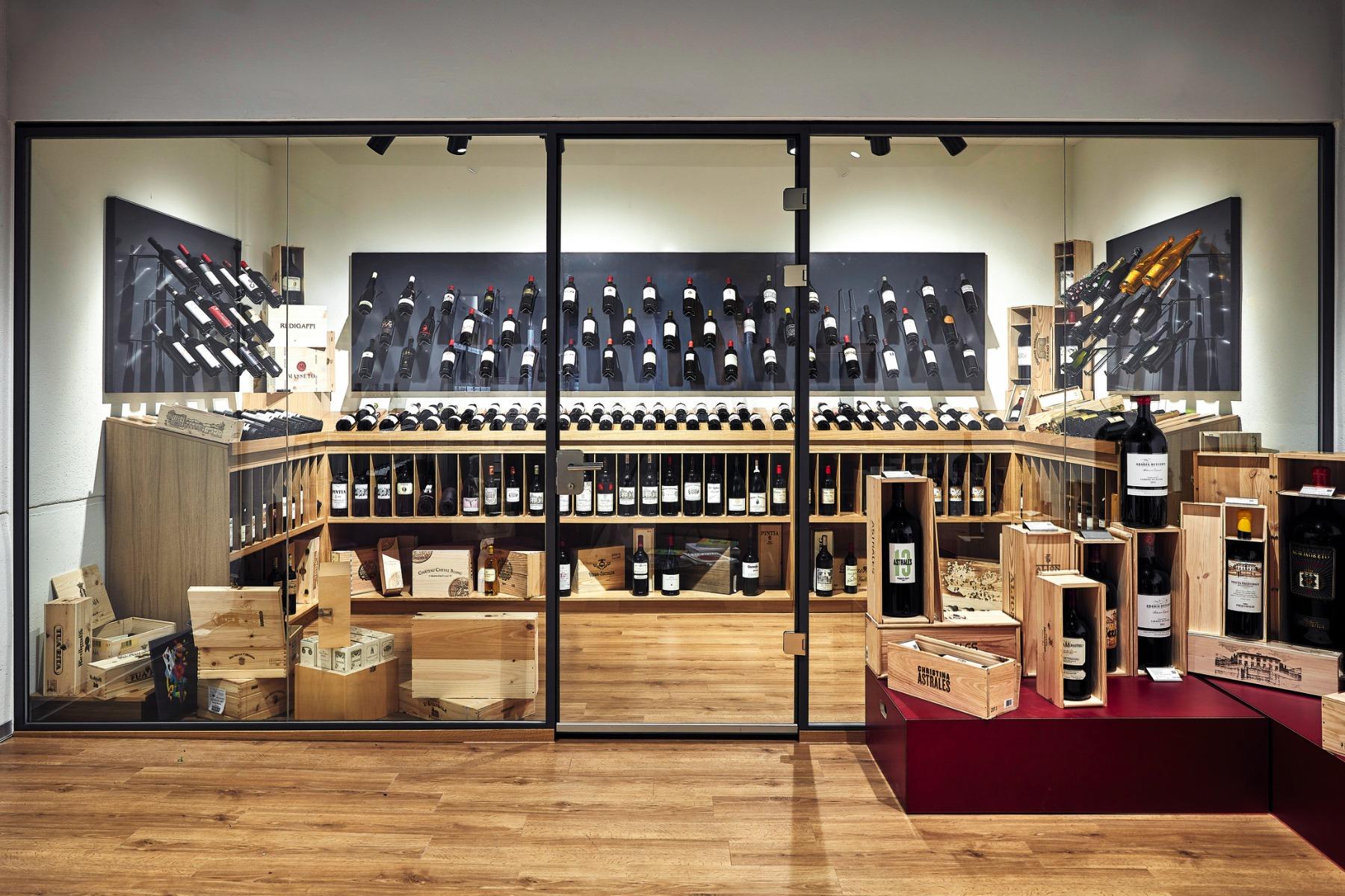Raritätenraum bei Mövenpick Wein