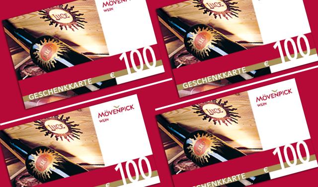 Geschenkkarte im Wert von 100 Euro