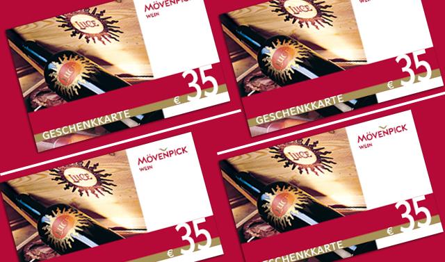 Geschenkkarte im Wert von 35 Euro