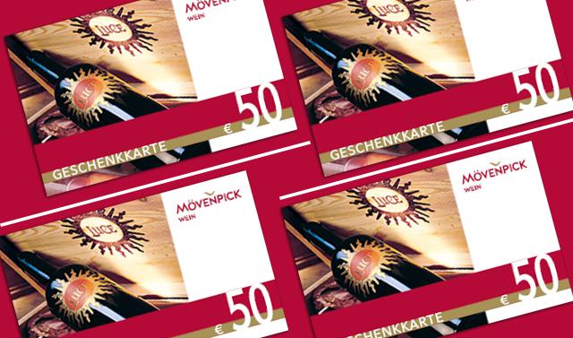 Geschenkkarte im Wert von 50 Euro