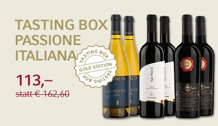 Tasting Box Gold Passione Italiana