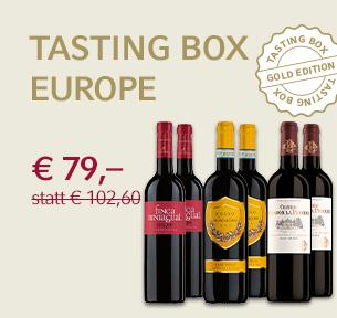 Tasting Box Gold Europe