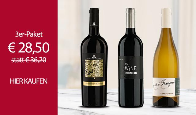 Exklusive Weinpakete | Essen & Trinken | Mövenpick Wein