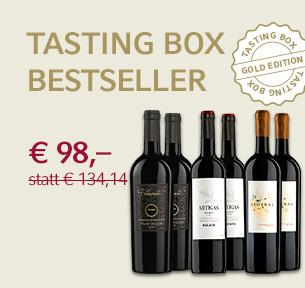 Tasting Box Bestseller Gold