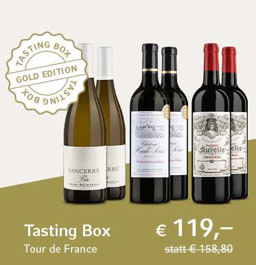 Tasting Box Tour de France - Gold Edition