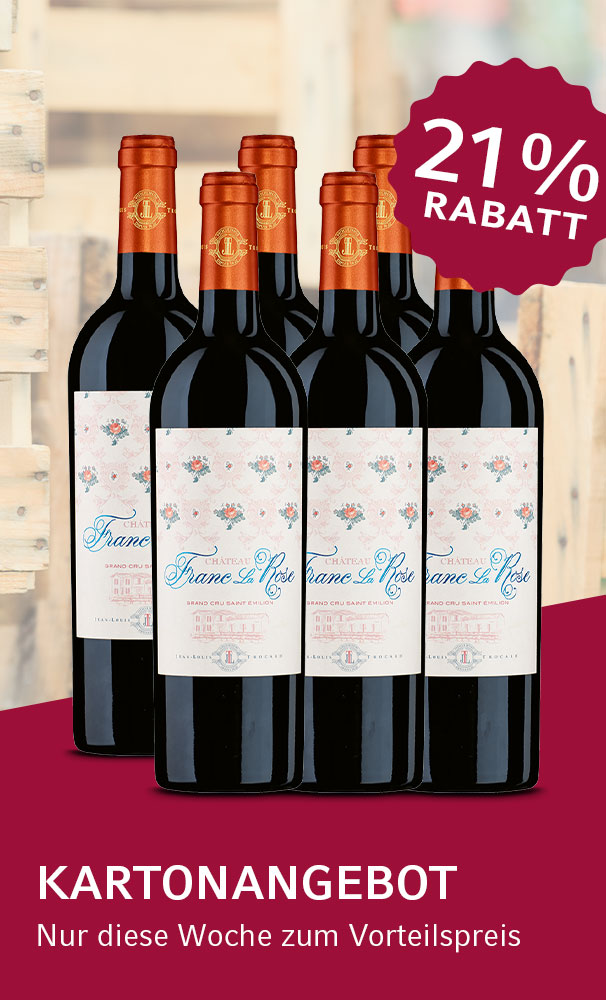 Kartonangebot - 2015 Château Franc La Rose