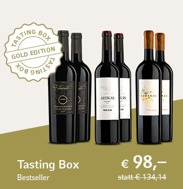 Tasting Box Bestseller - Gold Edition