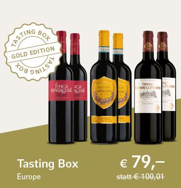 Tasting Box Europe - Gold Edition